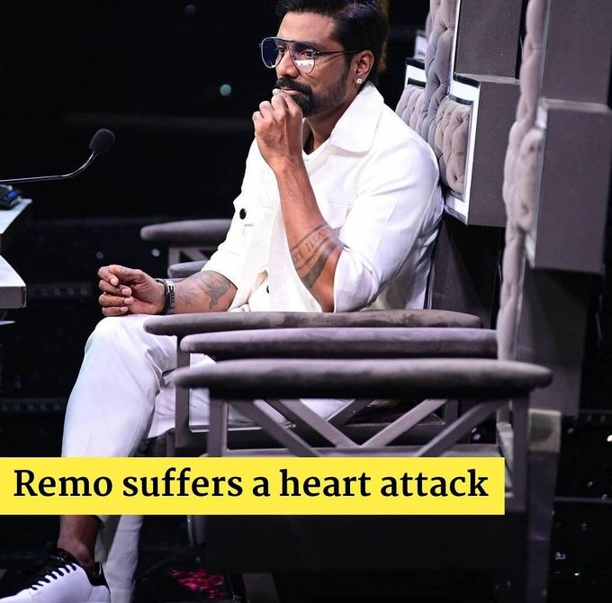 #RemoDsouza Wish you a speed recovery 🙏 I can't believe that  God bless you 🙏❤ 🙌 🙏
