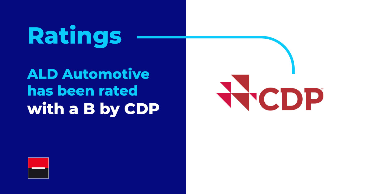 """CDP (Carbon Disclosure Project) has attributed us with a """"B"""" rating for our environmental transparency and actions in 2020! This rating is higher than the European regional average of C, the rental and leasing sector of C and our competitors. #ReadyToMoveYou #CSR #MoveforGood"""