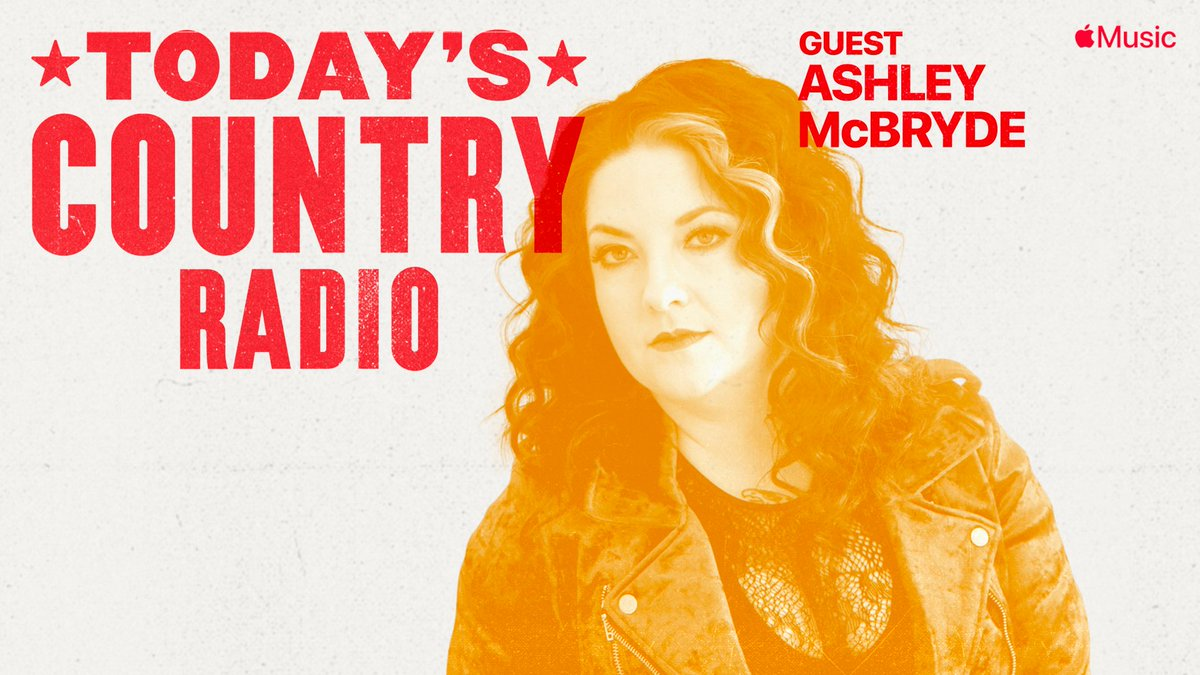 On #TodaysCountry Radio we catch up w/ cover star @AshleyMcBryde about #Grammy nominations, Martha Divine (she had it coming ☠️) and collaborating w/ @Cayleehammack& @tenilletownes.  8am CT listen →  @AppleMusic