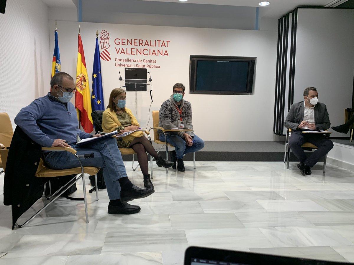 test Twitter Media - Reunidos con @GVAinclusio y @GVAsanitat para analizar la situación #COVID19 en las #residencias de la @generalitat Valenciana y comenzando a planificar la vacunación en los centros. @AESTE_oficial @AERTE_CV https://t.co/V7lsnFGxUX