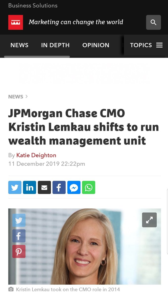 On this day in 2019, the inestimable @KLemkau got a well deserved promotion. #HumansOfChase #WomenInBanking #ThisMama