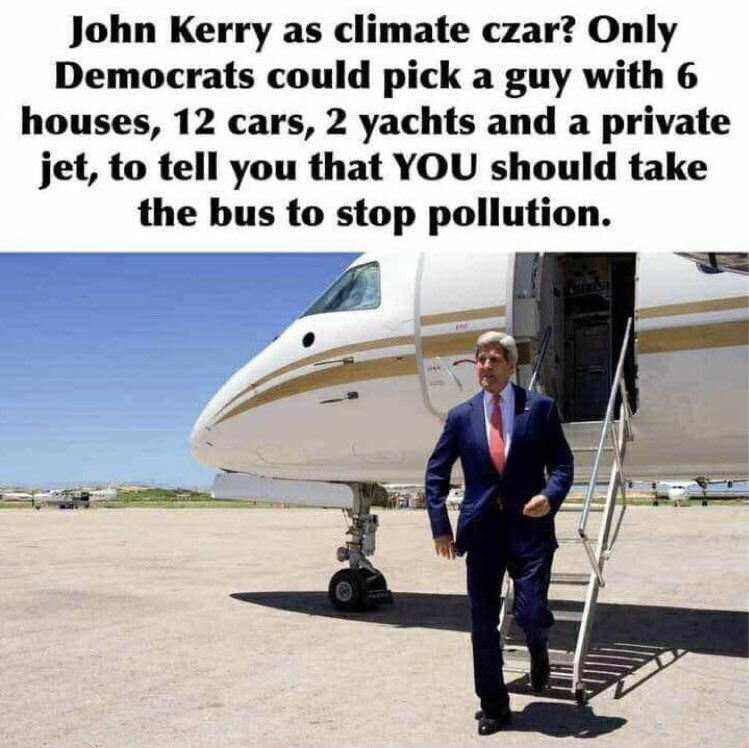 "Marc Morano on Twitter: ""Climate czar nominee John Kerry under fire for private  jet use – Reported millions in income through his wife's charter flight  company 