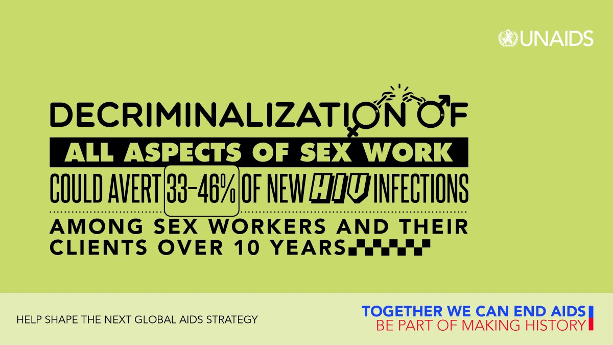 Unless we address punitive laws & decriminalize key populations, our HIV targets will not be achieved.  The next #GlobalAIDSStrategy highlights this priority, recognizing we have to breakdown those barriers to achieve HIV & health outcomes.   Learn more 👉🏾
