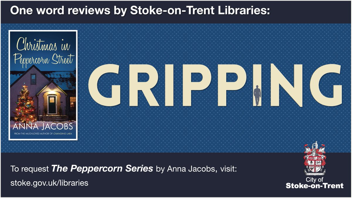 One Word Reviews: gripping  Have you read this week's #onewordreview book? What word would you use to describe it? Let us know in the comments.  Requests the Peppercorn series books from Stoke-on-Trent Libraries here:   #books #reading #onewordreviews