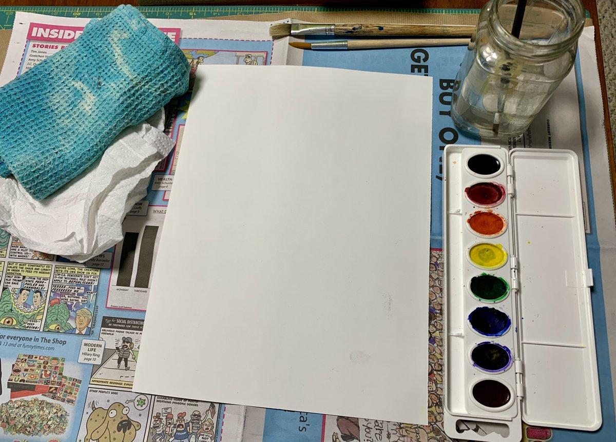@BarrettAPS Künstler starten eine Maleinheit . Stellen Sie Ihre Kinder auf einen erfolgreichen Malerfolg ein. Vergessen Sie nicht eine Schürze oder ein unordentliches Kunsthemd! #kwbpride @APSArts https://t.co/Gih8SnXsuw
