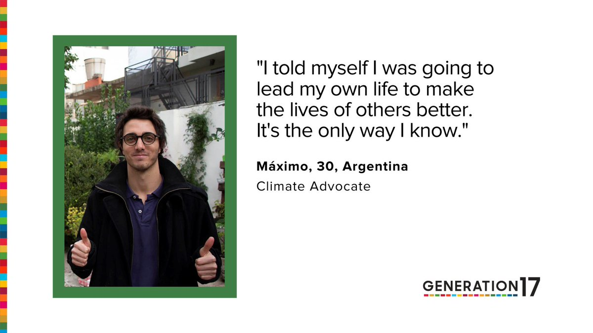 #Generation17 Young Leader @maximomazzocco founded @ecohouseok to tackle open garbage dumps in Argentina. He's inspiring climate action #TogetherForOurPlanet through zero waste. Meet him in our #SamsungGlobalGoals app w/ our partner @SamsungMobile:   #COP26