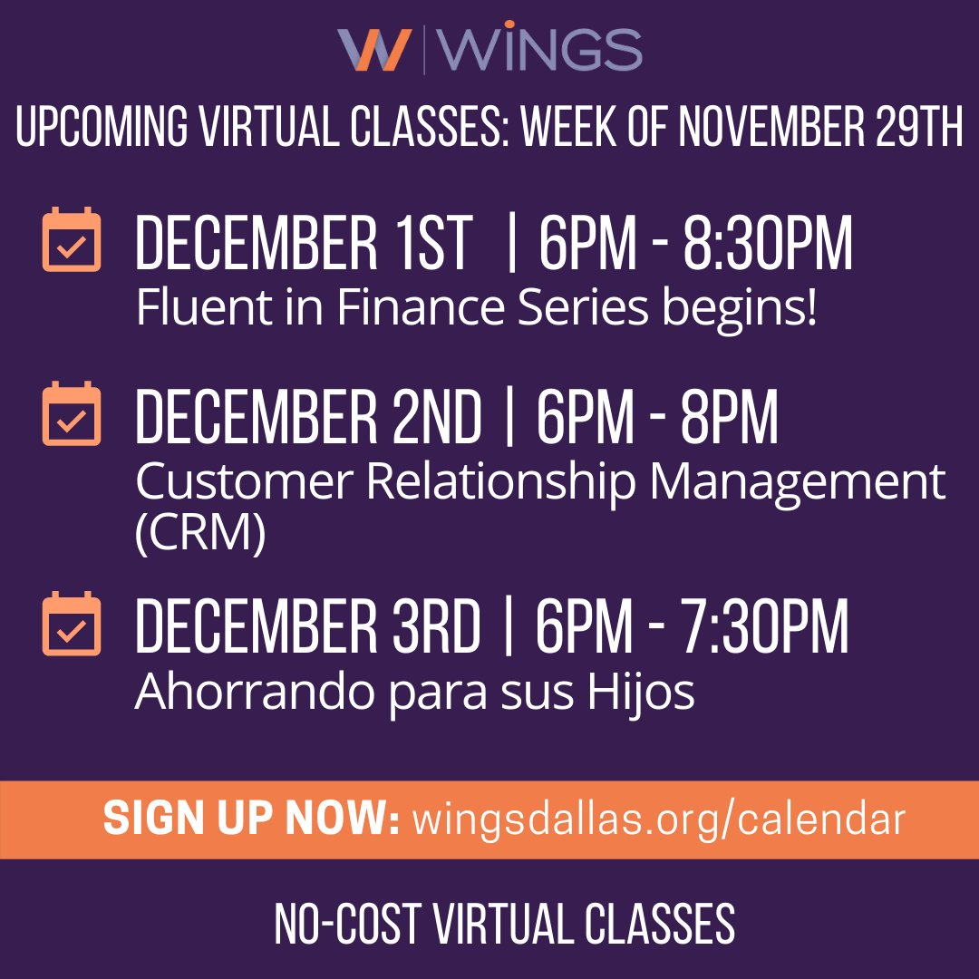 test Twitter Media - We have some upcoming classes that you're not going to want to miss! As we approach the year's end, this is a great opportunity to get your finances and business on track with your goals! Register for classes this week at https://t.co/VaAFMOs4HS https://t.co/L3MyfCvGcO