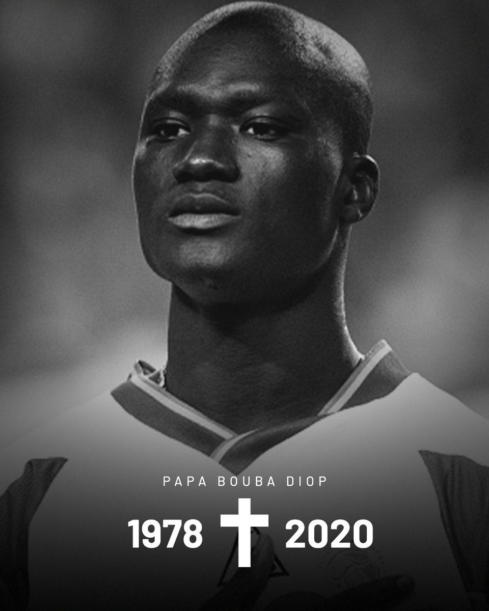 O ex-jogador senegalês Papa Bouba Diop morreu neste domingo (29), aos 42 anos. Ele foi o responsável pelo gol da vitória de Senegal contra a França, na Copa do Mundo de 2002. https://t.co/hFxsjdhiZ5