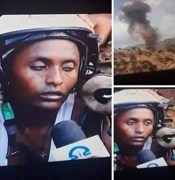 قوات إقليم تيجراي تعلن إسقاط طائرة للجيش الإثيوبي وأسر الطيار قريبا هنشوف مرتزقة من تركيا بتقاتل في إثيوبيا ضد إقليم تيجراي.