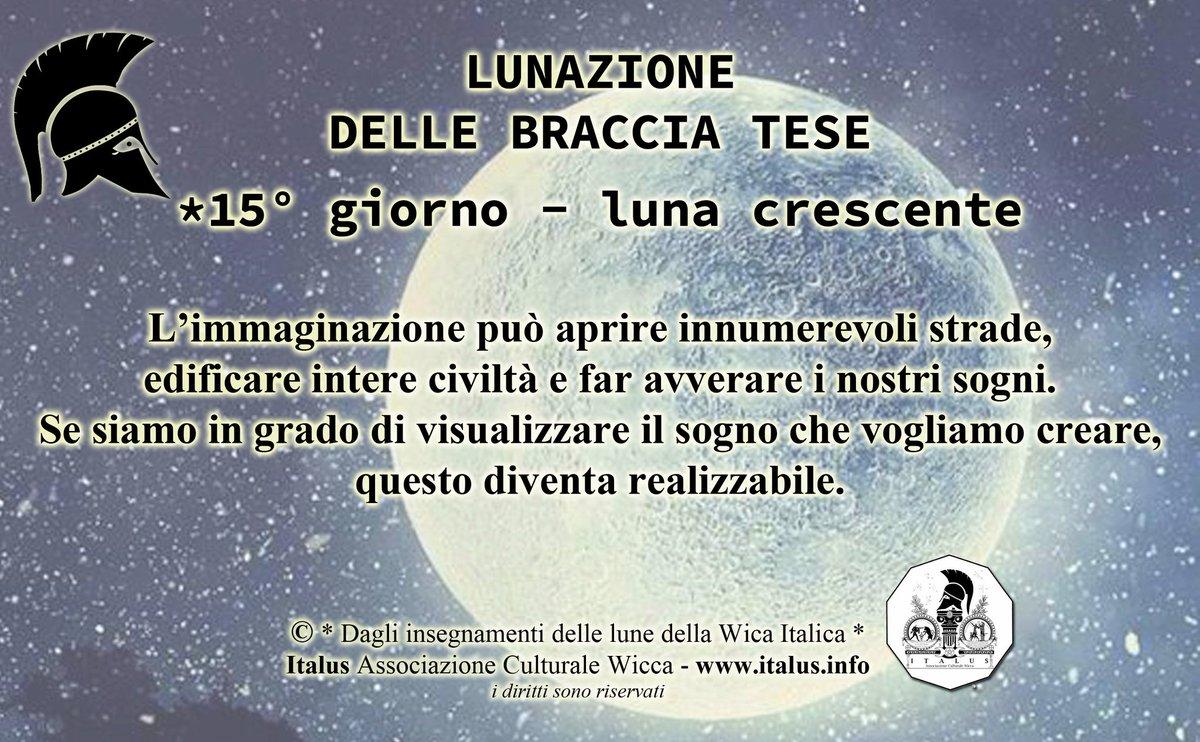 #ItalusAssociazione #luna #moon #lunacrescente #foolmoon #esbat #wicca #paganesimoitalia #wiccaitalia #neopaganesimo #pagan #witches #paganesimo #witch #witchcraft #sabba #actionforhappiness #azionepositiva #benessere #positività #ottimismo #forza #energypost #lavorosusestessi https://t.co/aTbY9roBAG
