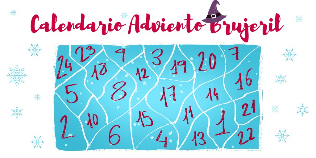 Calendario de Adviento Brujeril