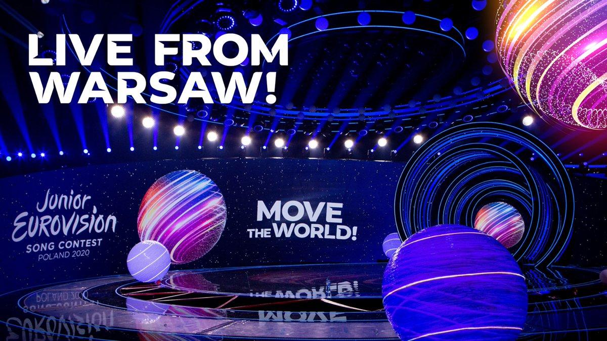 Let the Junior Eurovision Song Contest...BEGIN! 🥳  Watch LIVE 👉 https://t.co/kWRldflOtQ  #JESC2020 | #MoveTheWorld https://t.co/pF2UTL5xL3