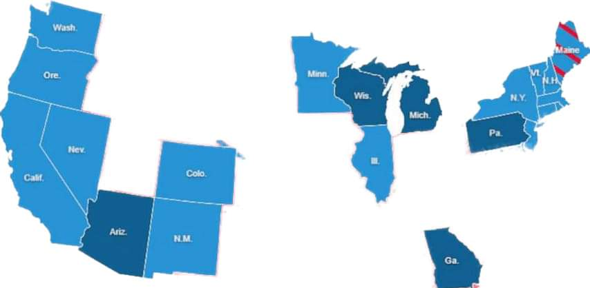 Welcome to the Productive and Progressive States of  America! If you're looking for a place to Live, Work, Do Business and Raise a Family?..... welcome to these BLUE States! , https://t.co/3xepkGVXow