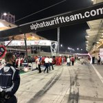 🚩 Update! 🚩   We will go racing again at 18:35 local time (10min from now)   #AlphaTauri #F1 #BahrainGP 🇧🇭
