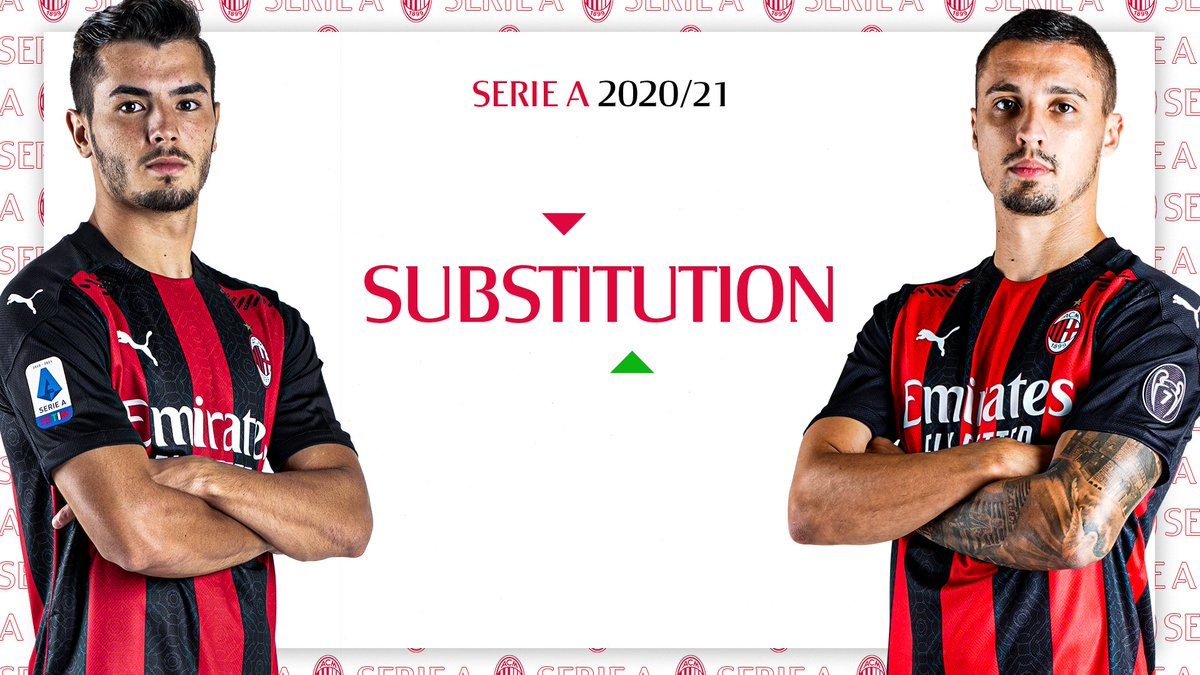 ⏱ 74' Our first change of the match: Krunić comes on for @Brahim  #MilanFiorentina 2-0 #SempreMilan