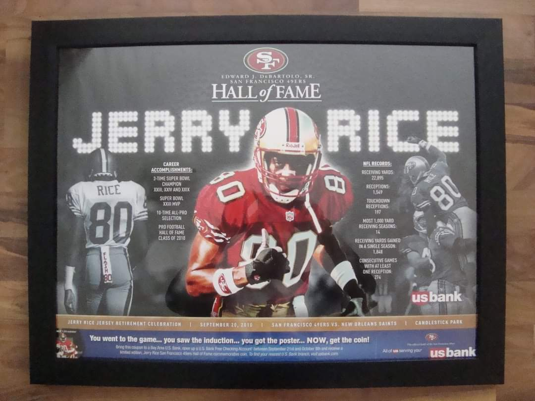 @JOEL9ONE As a 49ers and SF Giants fan since a kid (about 1988) up here in small town Alberta 🇨🇦, I'm very thankful to have seen a game there. Monday Nighter/Home opener vs the Saints 2010. Was @JerryRice jersey retirement night as well which makes it even more special https://t.co/24NMooAxXq