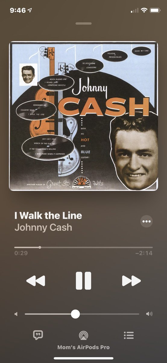 Johnny Cash for this #SundayMorning with my coffee. 🎵❤️🎶