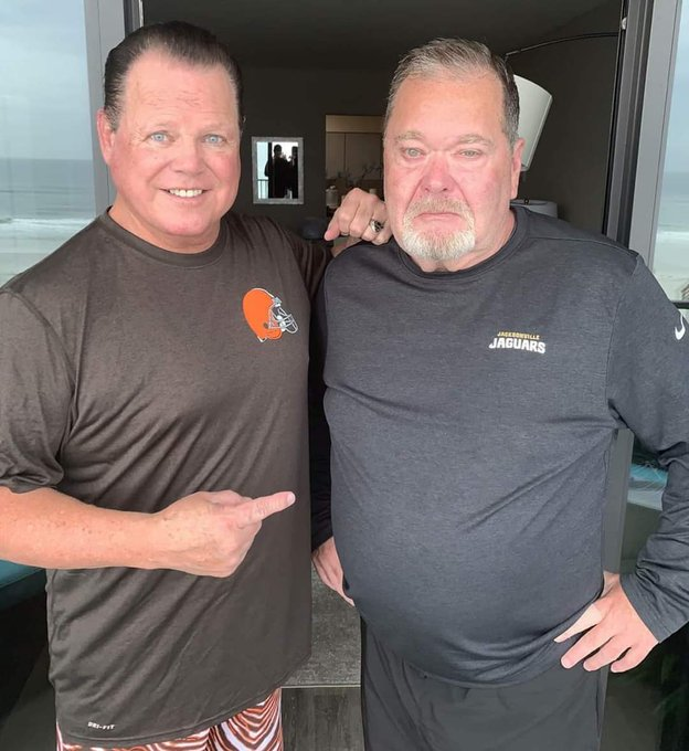 """Jerry Lawler and Jim Ross gather to celebrate the Jerry\s Birthday  Happy 71st Birthday to \""""The King\"""""""