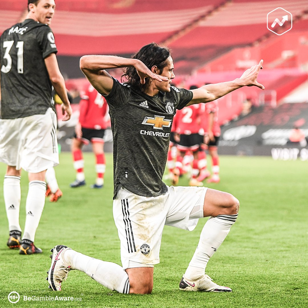 In November 2020, Edinson Cavani has scored more Premier League goals from the bench (3) than the whole Arsenal squad, combined (1).  Arsenal may not actually need to vote for November's goal of the month. May be that one penalty, by default.🥺  #SOUMUN #Mufc #mulive @ManUtd