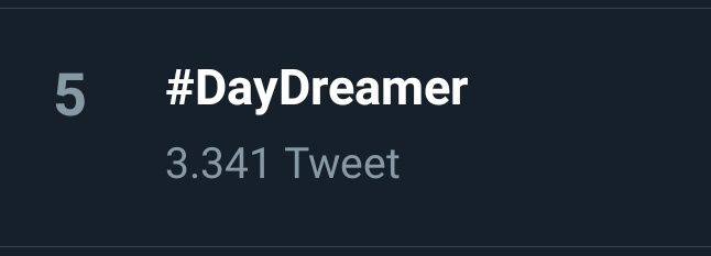 #DayDreamer