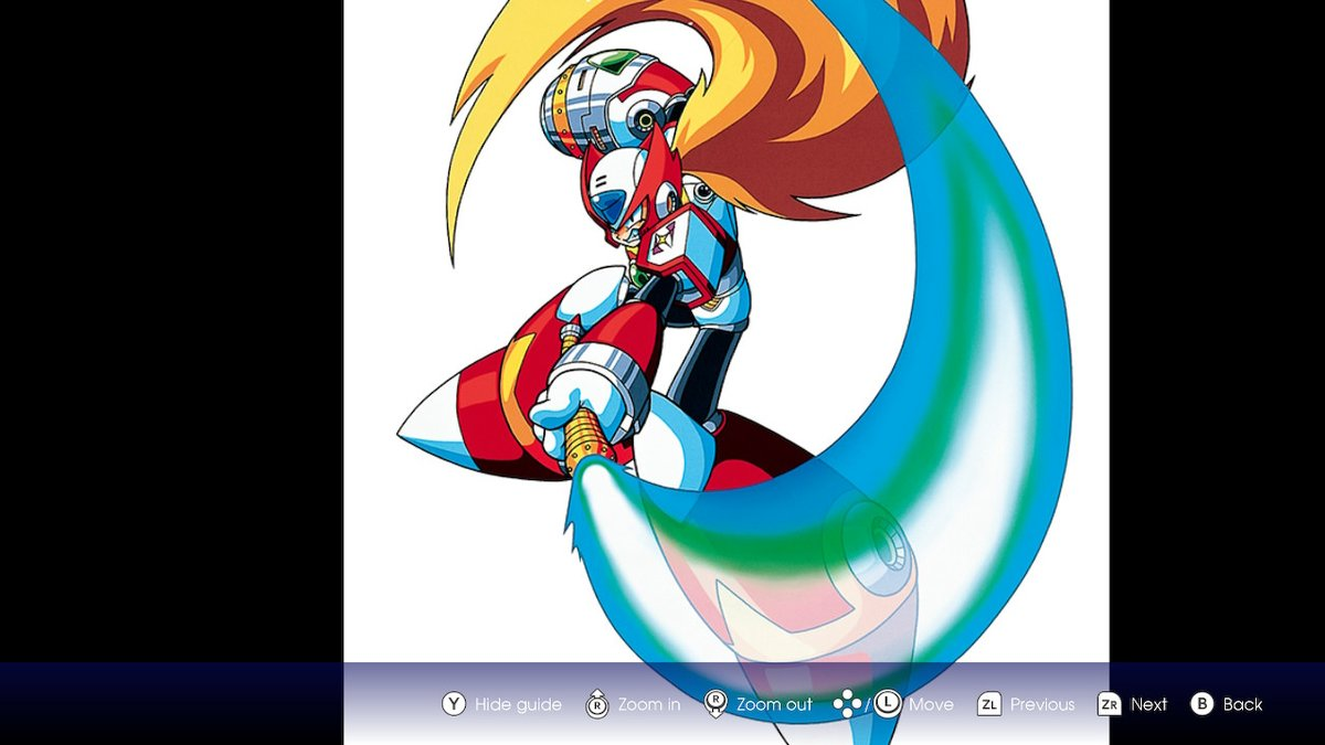 I cant unsee this but Zero bent his saber handle....  #MegaManX #NintendoSwitch https://t.co/AYLyfVCeQK