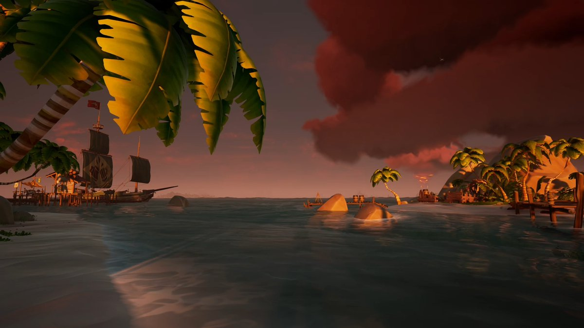 Replying to @SeaOfThieves: Sanctuary Outpost #SundayVibes
