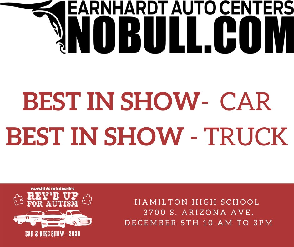 Does your #car or #truck have what it takes to win the @EarnhardtAuto Best in Show award? Thank you you Earnhardt Auto Centers for sponsoring the Best in Show Award. #earnhardtautocenters #nobull #thankyou #bestinshow #carshow #trucks #winner #chevy #ford#mopar #imports #lowrider