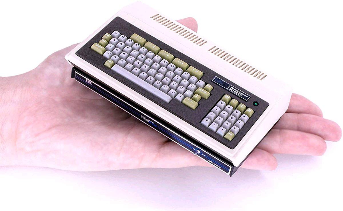 おおっ。この機会に買うべきか。。悩ましい。  /Amazon「ブラックフライデー&サイバーマンデー」に「PasocomMini PC-8001 PCGセット(version 1.3.0適用済み)」が登場! - GAME Watch https://t.co/EFO35Jgtcd https://t.co/DZy6VzJWGD