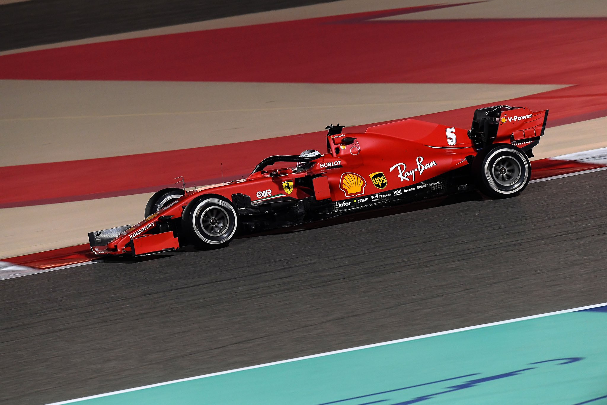GP Bahrain Ferrari Vettel