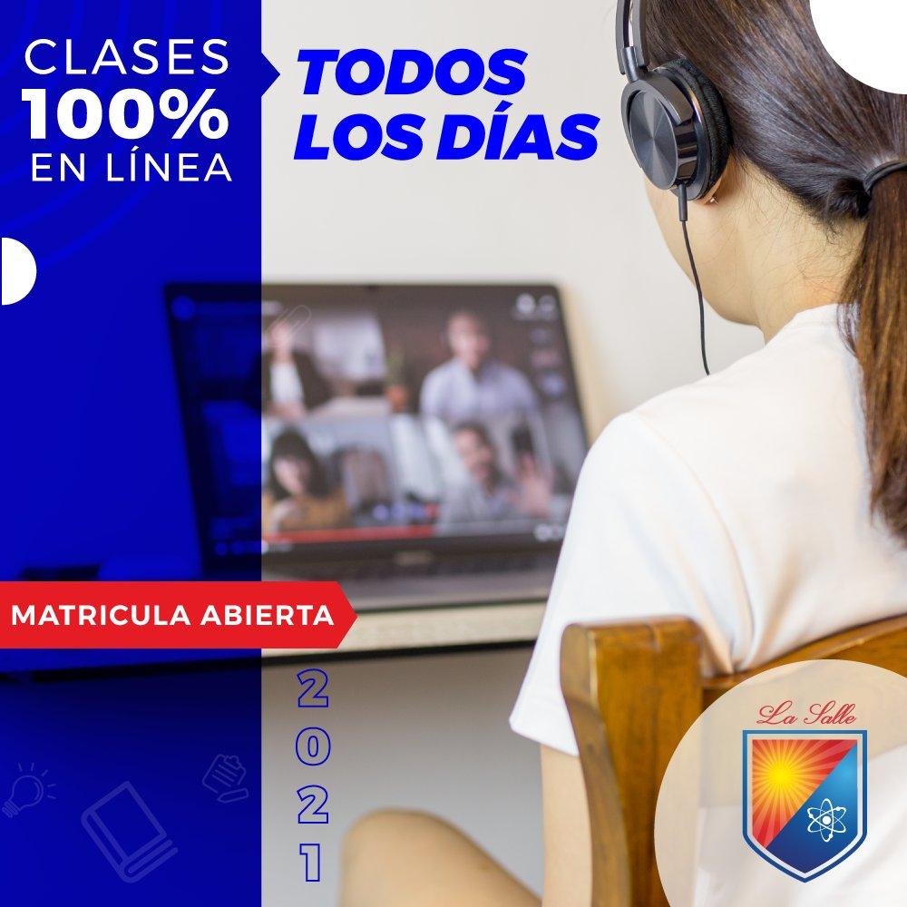 En La Salle implementamos el uso de plataformas digitales desde el 2018 permitiéndonos mantener los estándares de calidad y clases en línea TODOS LOS DÍAS en horario normal durante estos tiempos de educación en casa.  ¡Más información!  https://t.co/MfFT8GB7to https://t.co/BCiw5OAoy4