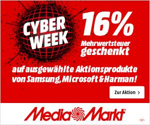 🔥 MediaMarkt Cyber Week: Fette 16% Mehrwertsteuer geschenkt 🔥  👉 https://t.co/tw1nGjf96P  Die Highlights bei uns in der Übersicht! MediaMarkt Deutschland  #CyberMonday #CyberWeek #mediamarkt #schnäppchen #deals #deal #angebote #günstiger #Werbung #geschenkidee https://t.co/0O8n2c6h6l