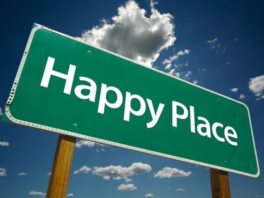 This week we want to know where is your happy place? #podcast #question #PodNation #betherewithbelson #happyplace