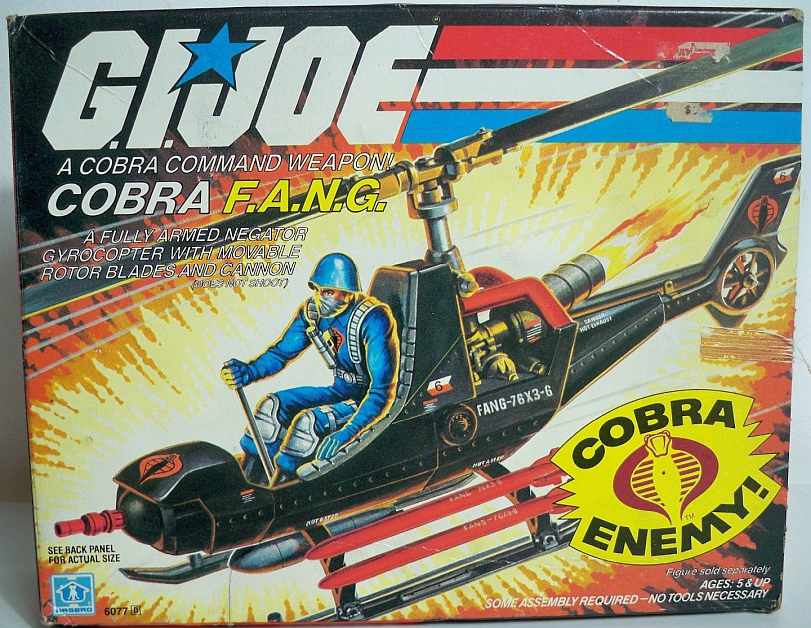 Cobra FANG helicopter from 1983.