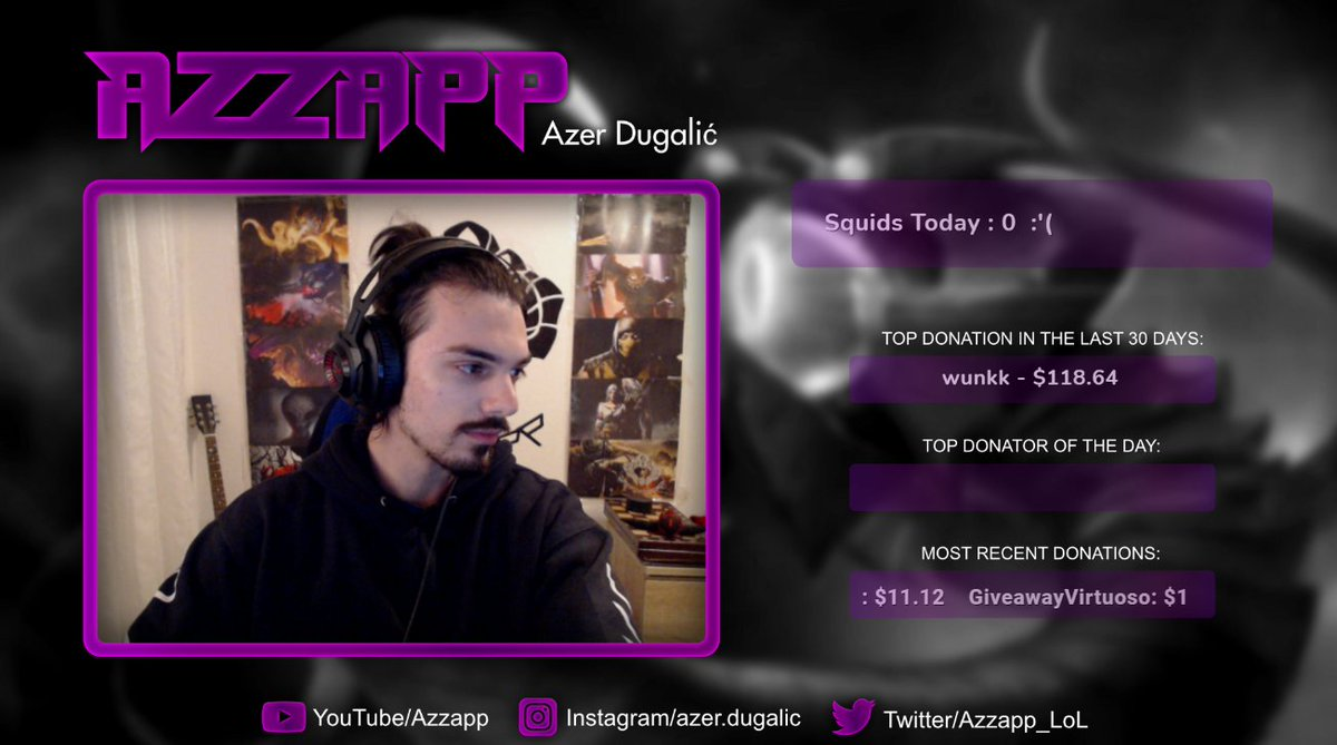 Azzapp - Regular length stream is back brothers, join the geometry school!    #VelKoz #LeagueofLegends #Streamer #TwitchStreamer #TwitchStreamers #TwitchTv #twitch #TWitchpartner