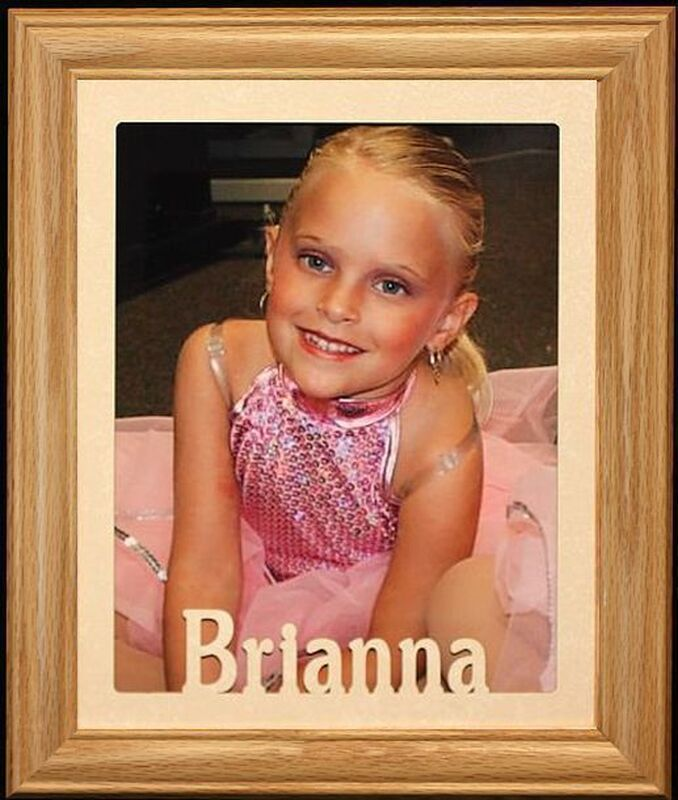 8x10 JUMBO PERSONALIZED Portrait Or Landscape Picture Frame  ~  Holds a full size 8x10