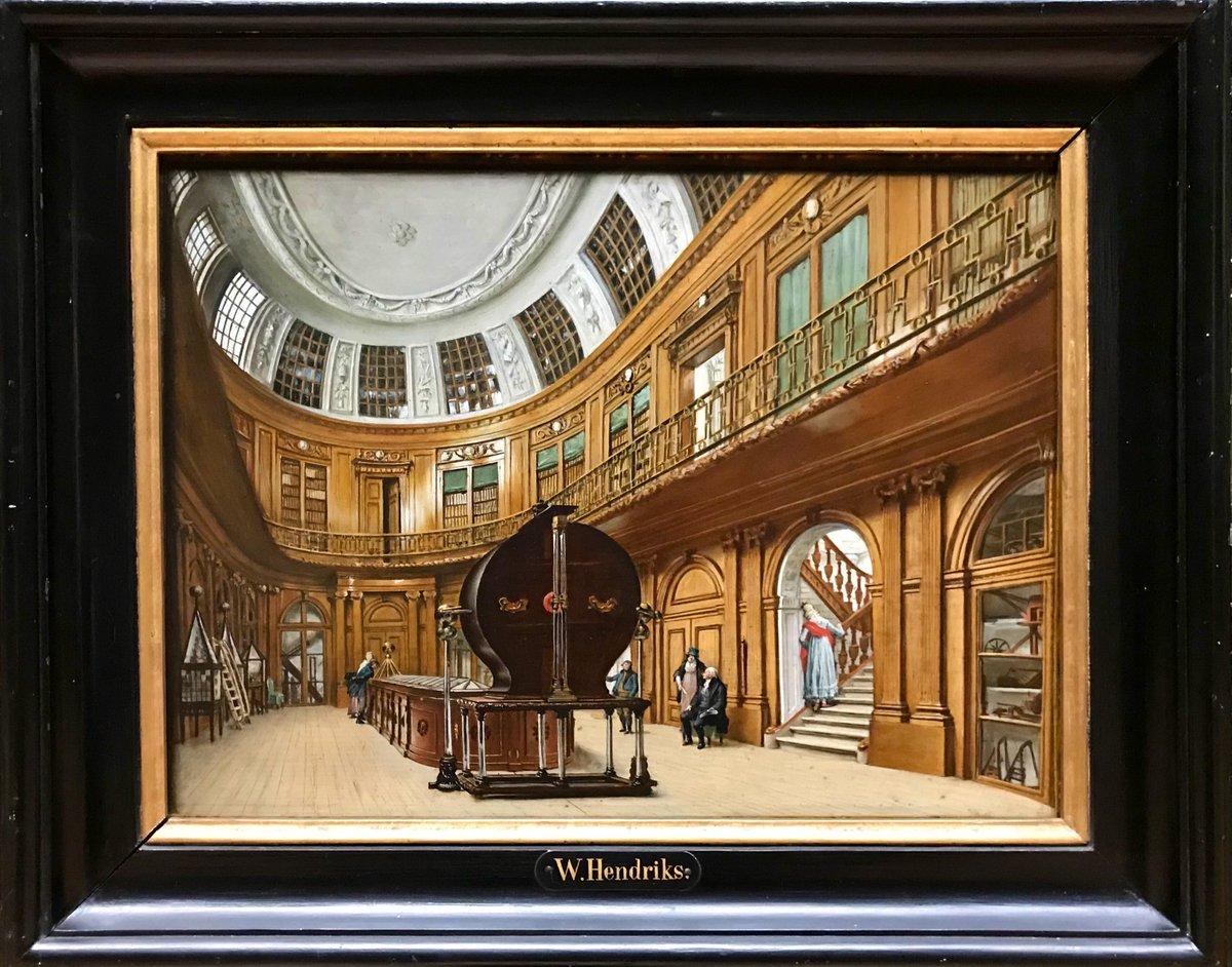 test Twitter Media - Interieur van de Ovale Zaal in Teylers #Museum, Wybrand Hendriks (1744-1831), @Teylers Museum, Haarlem #art #kunst https://t.co/vprdZ2rgzp