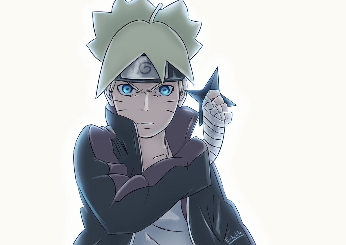 RT @endarlike: From Episode 175... it took a while ~ tried something new :D  Hope you enjoy!  #BORUTO #fanart https://t.co/8C8Z6Wj4Zz