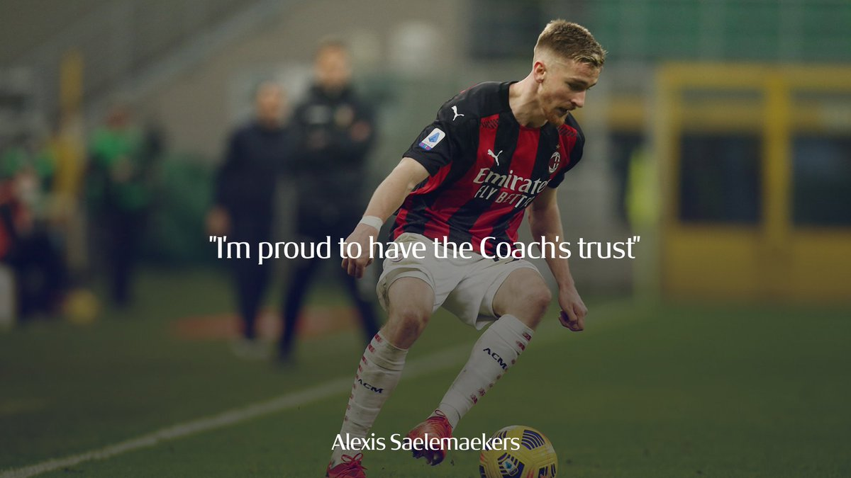 Head over to the app to hear what Alexis Saelemaekers had to say after our win in #MilanFiorentina 📱 👉  #SempreMilan