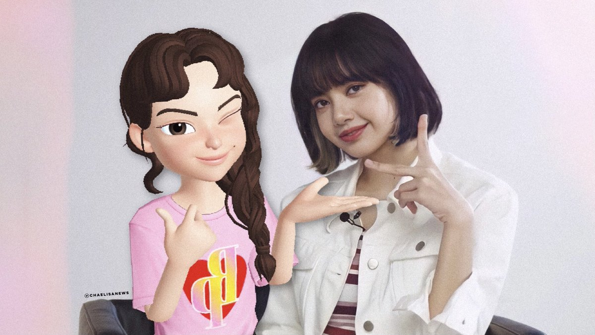 [RANDOM] Of course I couldn't stay out of it so... here's my virtual selfie/picture with LISA 🤣♥️  #ThankYouLisaxPenshoppe #LISA #리사 #BLACKPINK #블랙핑크 @BLACKPINK