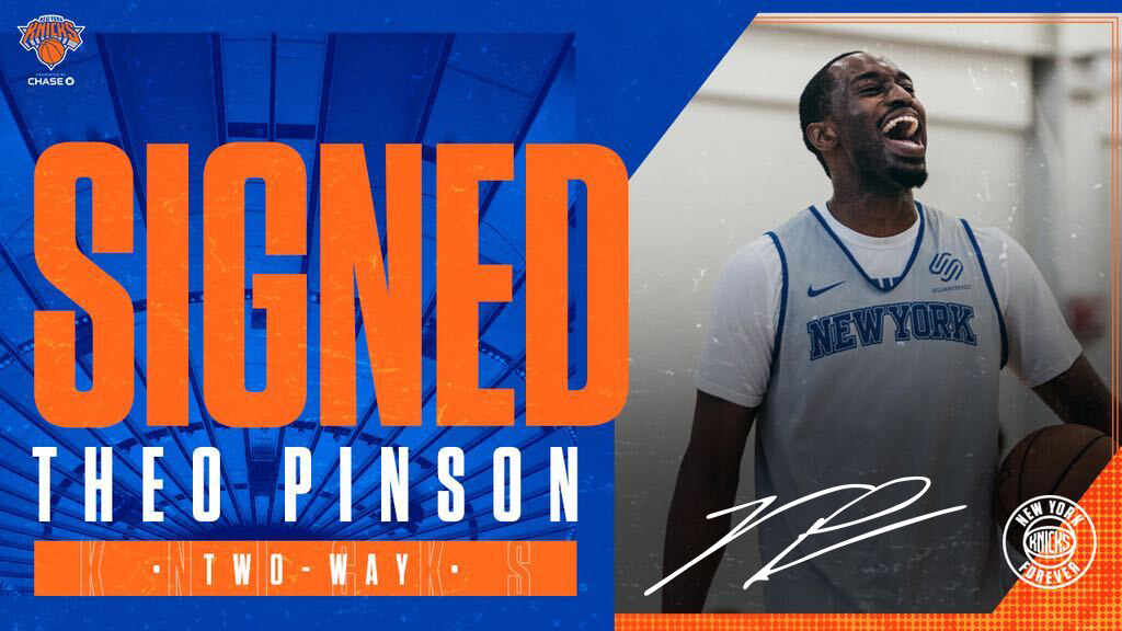 Back for more. Welcome back, @tpinsonn! #NewYorkForever  https://t.co/iGOhSgxH8S https://t.co/cPiQp0DTwB