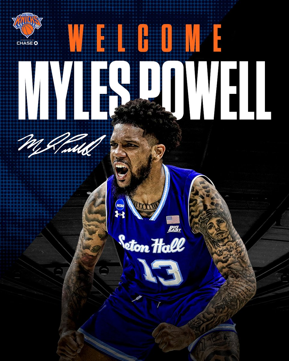 New York or nowhere. Welcome to the family, Myles!  https://t.co/ktRK82TFao https://t.co/4keHJnvPxt