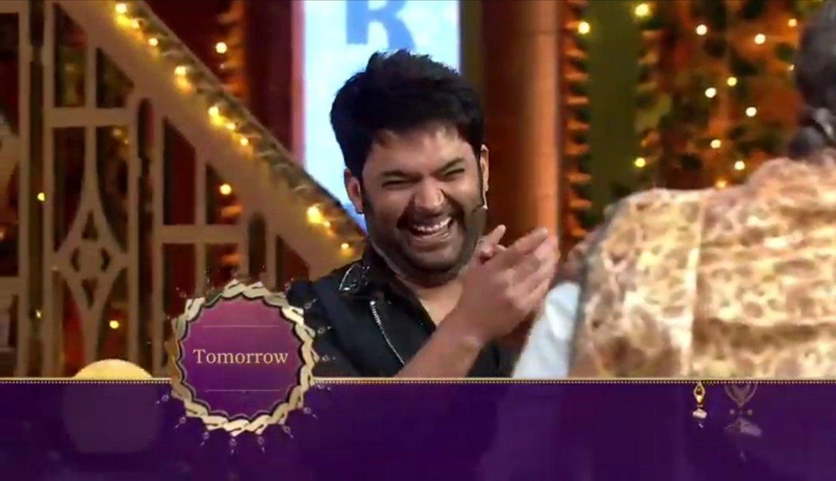 "Why did editors/@SonyTV edit his laughter (I mean close shot) when Chandu taunted Krushna ""Govinda ke saamne har episode mein perform kar sakta hun""?? 😠😠😭😭 #TheKapilSharmaShow"