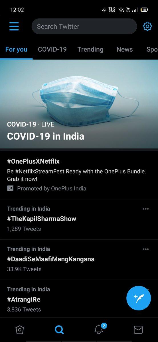 People are pouring so much Love for Today's episode 🤩❤️😍 #TheKapilSharmaShow is trending un India 🔥❤️🙌 Thanks to motivating & hilarious stories of legends Pankaj ji , Anupam ji & Satish ji & Best performances by @KapilSharmaK9 @Krushna_KAS @haanjichandan @kikusharda 👏🥳😍🥰