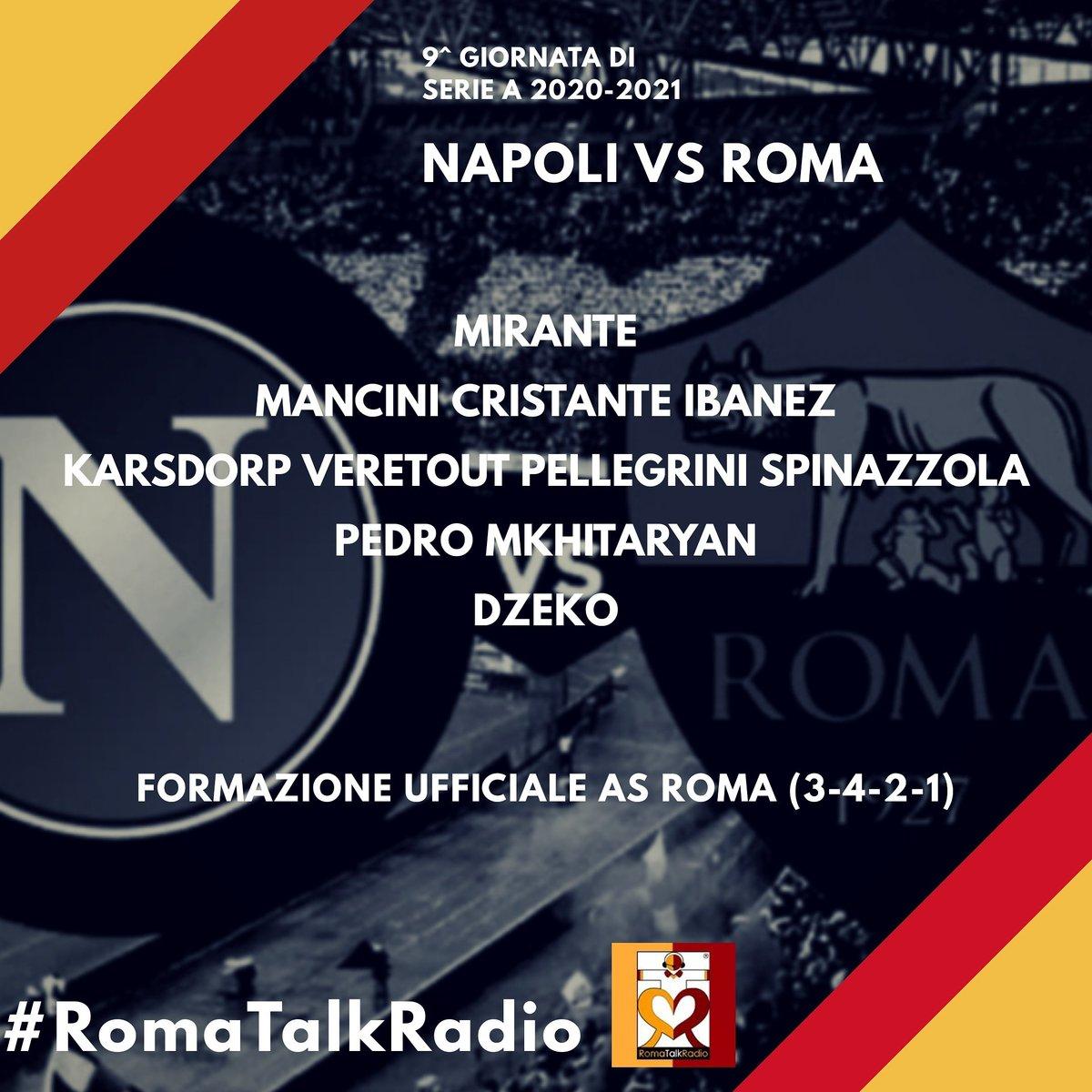 #NapoliRoma