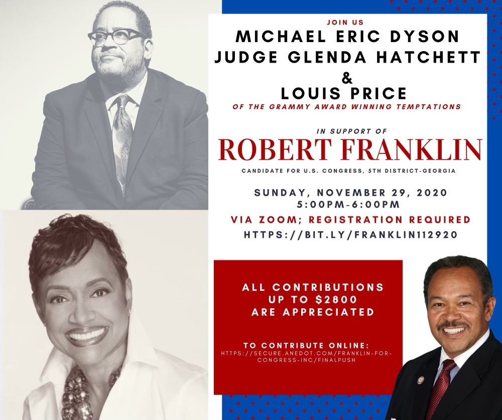 Honored and excited to join the great @TheJudgeHatchet as cohost for a fundraiser for the remarkable @RMF4congress this evening at 5pm. Join us in support of a great man for a timely cause!
