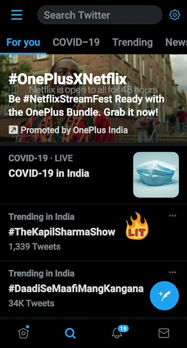 💫 #TheKapilSharmaShow Trending at 1st🤩🤩🤩 #KapilSharma