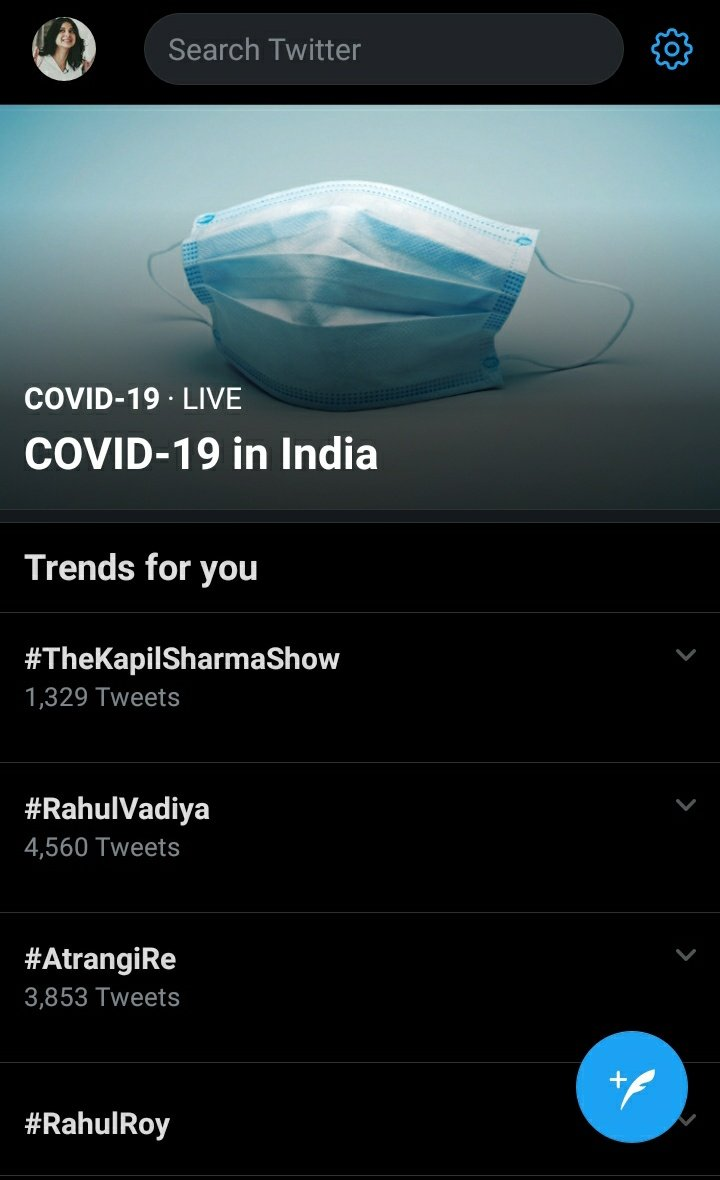 #TheKapilSharmaShow is trending in India on TOP without any planned trend!Ppl r pouring so much love for the episode!Well deserved coz it was really an amazing episode! Hats off to the whole team!The love for this show is unlimited!We love u @KapilSharmaK9 & team!PROUD OF U.❤️
