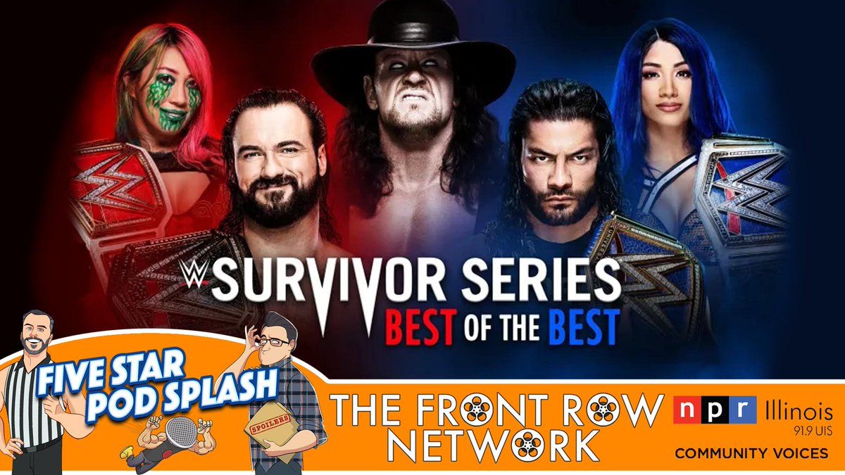 #WWE's annual brand battle #SurvivorSeries has come and gone and there were some absolute classics including a 🔥 main event and, of course, finally saying goodbye to the iconic #Undertaker. #FRN #NPR  LISTEN: https://t.co/y8HQrin7lj NPR: https://t.co/CYZ4pu4UGD https://t.co/X3RJDO647O