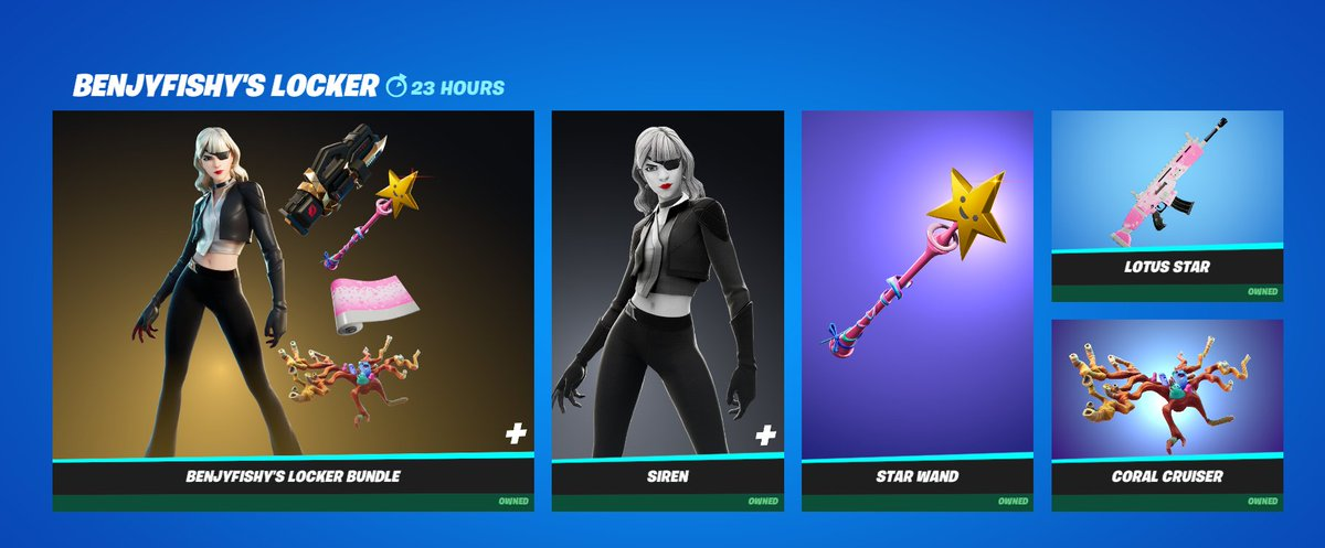 benjyfishy - AYYYY LETS GOOOOOOOOOO THANK YOU @FortniteGame FOR GIVING ME MY OWN BUNDLE 😍😍😍 make sure to use my code 'benjyfishy' when buying it and tag me on twitter :)