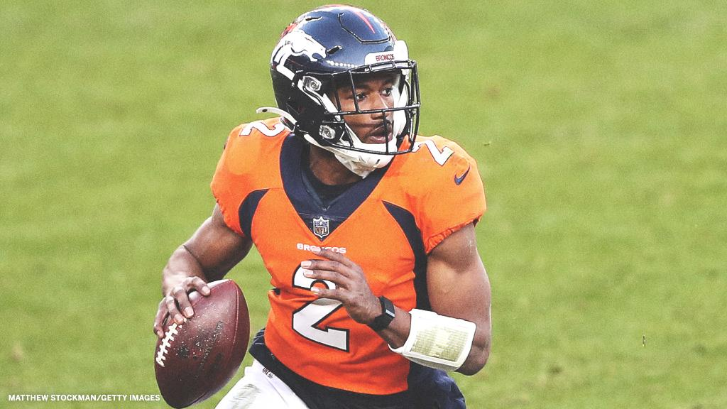 Broncos QB Kendall Hinton deserves respect 👏  @Kendall_Hinton2     ✅ Undrafted WR ✅ Came off the practice squad ✅ Zero practice reps  ✅ Competed in his first NFL game https://t.co/KJJvCRTKW1